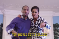 Watch Michelle Obama Rap About Why You Should Go To College