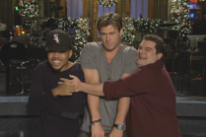 Watch Chance The Rapper Goof Around With Chris Hemsworth In Their <em>SNL</em> Promos