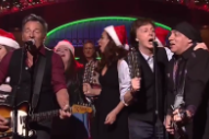 Watch Bruce Springsteen &#038; The E Street Band Play A Christmassy <em>SNL</em> With Surprise Guest Paul McCartney