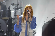"Watch Florence + The Machine Cover The Beatles' ""All You Need Is Love"" In Paris"