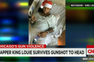 Watch King Louie Tell CNN About Surviving A Gunshot To The Head