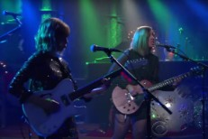 Sleater-Kinney on Colbert