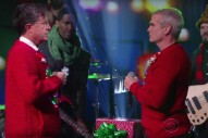 "Watch Stephen Colbert & Henry Rollins Sing ""Carol Of The Bells"""
