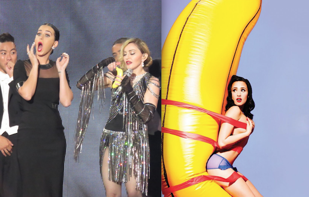 Madonna, Katy Perry, Demi