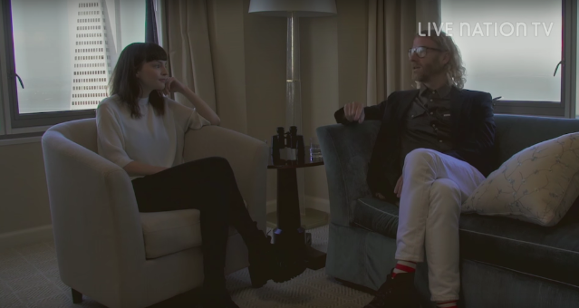 Watch Lauren Mayberry And Matt Berninger Interview Each Other