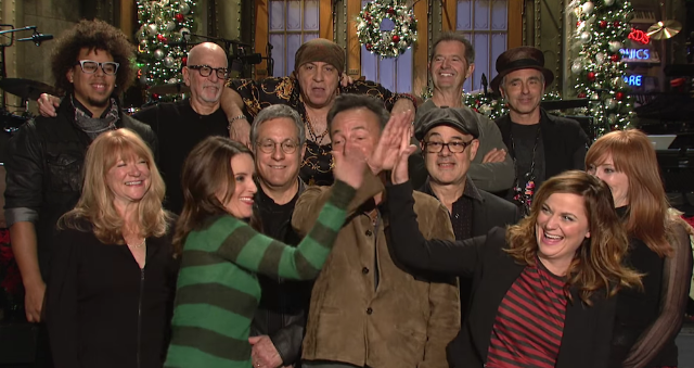 Watch Bruce Springsteen's Fallon Interview And SNL Promos With Tina Fey & Amy Poehler