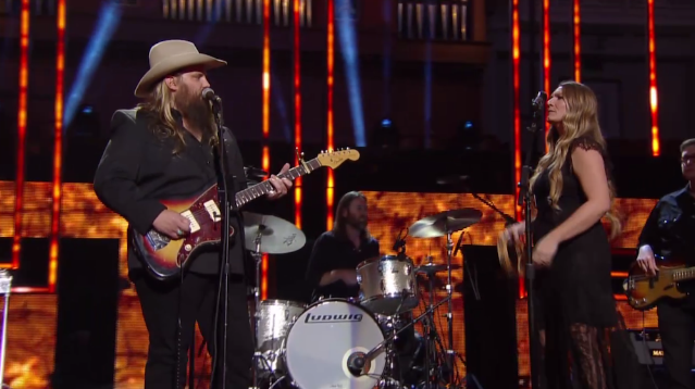 "Watch Chris Stapleton Perform ""Nobody To Blame"" At CMT's Artists Of The Year Show"
