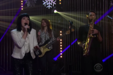 Watch Carly Rae Jepsen Bring Holiday Cheer To <em>James Corden</em> With Her &#8220;Last Christmas&#8221; Cover