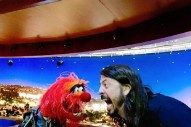 Watch Dave Grohl Battle Animal In A <em>Muppets</em> Drum-Off