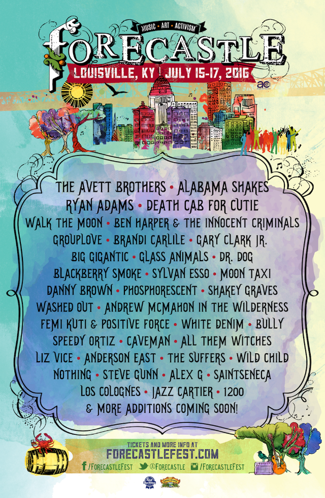 Forecastle 2016 Lineup