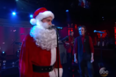 "Watch The Killers Perform ""Joel The Lump Of Coal"" With Jimmy Kimmel"