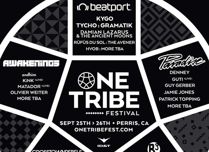 one tribe festival poster