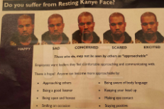 Goodwill Apologizes For Mocking Kanye's Face In Employee Training Materials