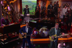 "Watch Squeeze Perform ""Happy Days"" On Colbert"