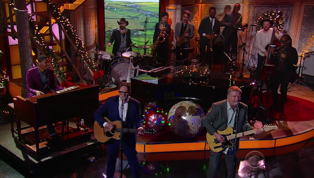 """Watch Squeeze Perform """"Happy Days"""" On Colbert"""