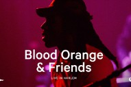 Preview Blood Orange's New Album, Hear Clips From His Benefit Shows At The Apollo