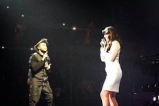 "Watch The Weeknd & Lana Del Rey Perform ""Prisoner"" Live For The First Time"