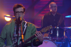 "Watch Weezer Perform ""Thank God For Girls"" On Conan"