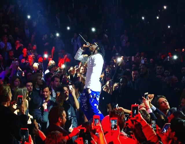 Lil Wayne Storms Offstage At Milan Fashion Show