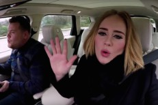 "Watch Adele Rap Nicki Minaj's ""Monster"" Verse With James Corden"