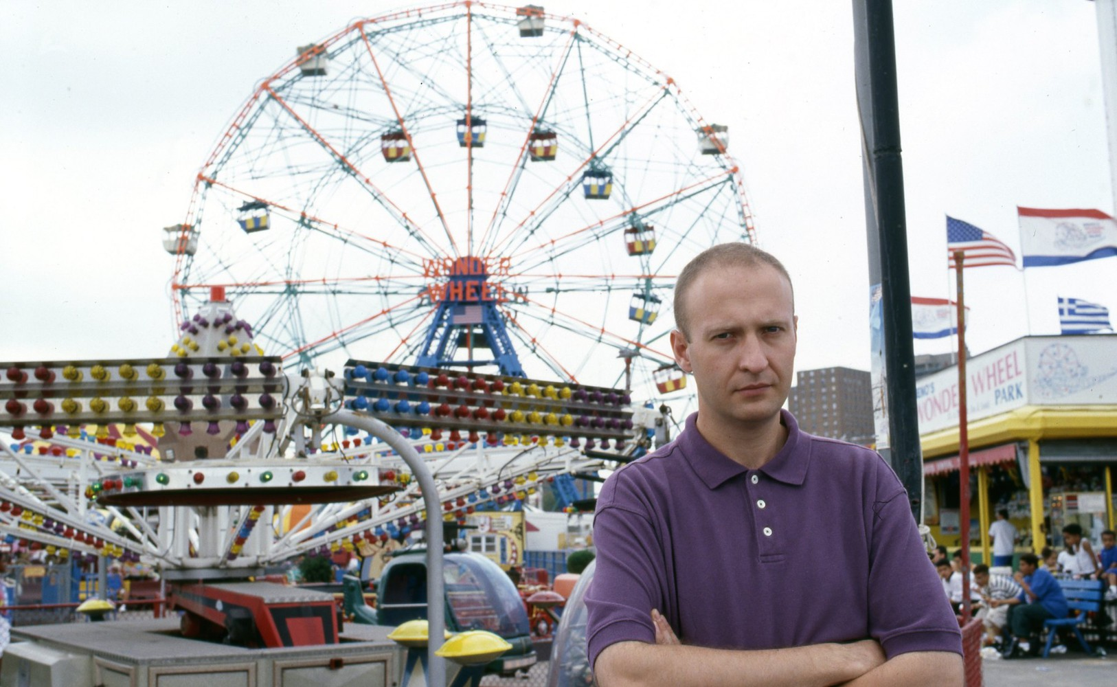 Bob Mould at Coney Island in the mid 1990s