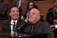 "Watch Billy Joel Cover The Rolling Stones With Jimmy Fallon, Sing ""The Longest Time"" With J.K. Simmons"