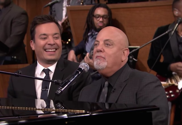 Jimmy Fallon and Billy Joel
