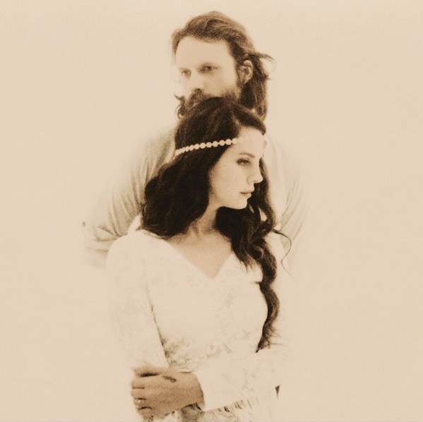 Lana Del Rey and Father John Misty