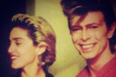 Madonna and David Bowie