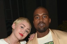 Miley Cyrus and Kanye West