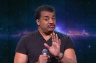 Watch Neil DeGrasse Tyson Drop The Mic On B.o.B On <em>The Nightly Show</em>