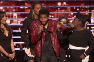 Guy Crashes People's Choice Awards Stage To Shout Out Kevin Gates And Kanye