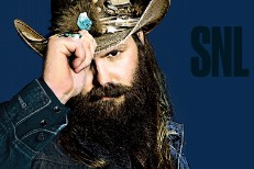 Watch Chris Stapleton & A David Bowie Tribute On SNL