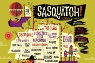 Sasquatch! 2016 Lineup