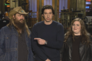 Chris Stapleton &#038; Adam Driver Together At Last In This Week&#8217;s <em>SNL</em> Promos