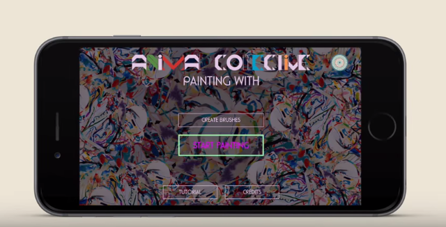 Demo Animal Collective's <em>Painting With</em> App