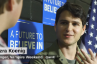 Watch Vampire Weekend's Ezra Koenig Discuss Bernie Sanders On CNN