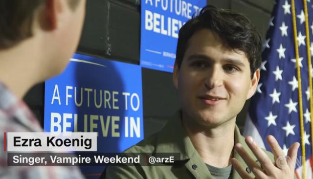 Watch Vampire Weekend's Ezra Koenig Discuss Bernie Sanders On CNN