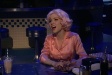 "Watch Carly Rae Jepsen Sing Grease: Live! Original ""All I Need Is An Angel"""