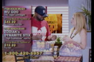 "Watch Ghostface Killah And Killah Priest's Ridiculous Infomercial/Music Video Promoting Their ""Wu Goo"" Hash Oil"
