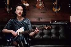 St. Vincent guitar