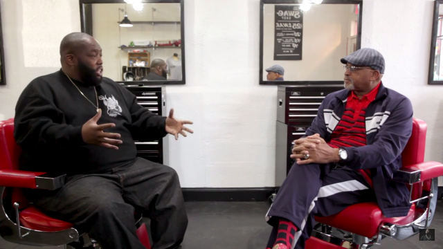 Killer Mike and Tommie Smith