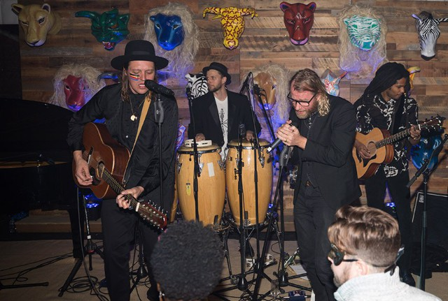 Matt Berninger Joins Arcade Fire's Win Butler And Régine Chassagne At Charity Show In Aspen