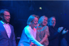 ABBA Make Rare Joint Appearance At Mamma Mia! Restaurant