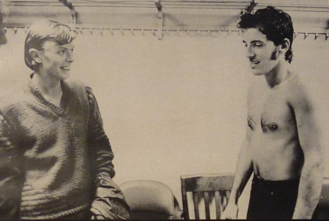 David Bowie & Bruce Springsteen