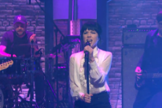 "Watch Carly Rae Jepsen Perform ""Run Away With Me"" & ""Your Type"" On Seth Meyers"