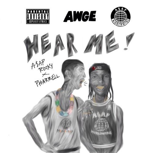 """A$AP Rocky - """"Hear Me"""" (Feat. Pharrell)"""
