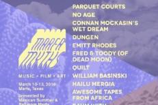 Marfa Myths Festival 2016 Lineup