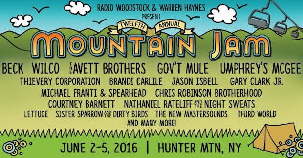 Mountain Jam 2016 Lineup