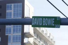 Austin's Bowie Street Sign Vandalized In Honor Of David Bowie, City Leaving It Up For A Week